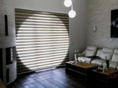 Rolety dzień/noc – montaż ściana/sufit